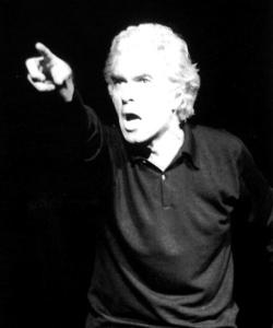 Il regista Giorgio Strehler.
