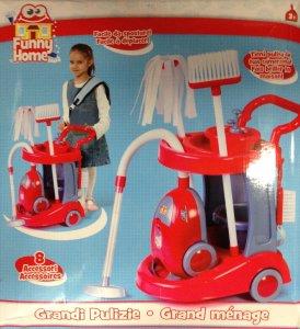 """Il gioco per bambine """"Grandi pulizie""""."""