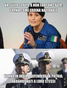 """L'immagine diffusa da """"Napoletani con Salvini""""."""