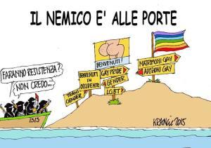 La vignetta di Alfio Krancic.