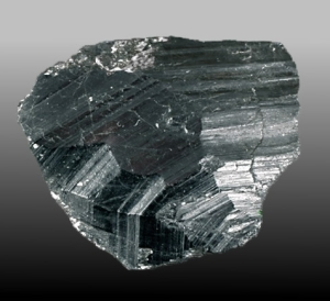 Il minerale di coltan.