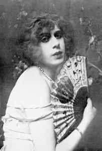 Una fotografia di Lili Elbe.