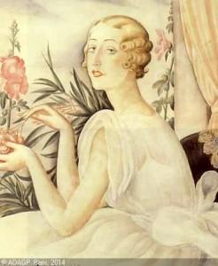 Un ritratto di Lili Elbe.