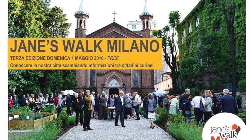 Due passi per Milano, e molto di più, con l'evento mondiale Jane's Walk