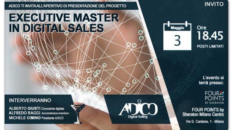 """Presentazione progetto: """"Executive Master in Digital Sales"""" by Adico"""