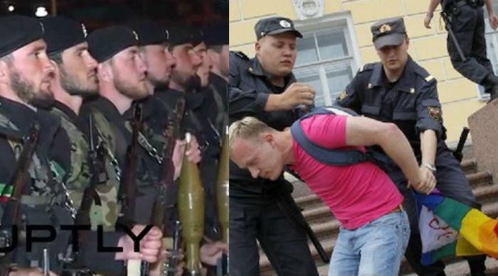 Campi di concentramento ceceni: la politica tace