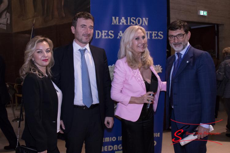 Premio Internazionale Medaglia d'Oro Maison des Artistes 2018