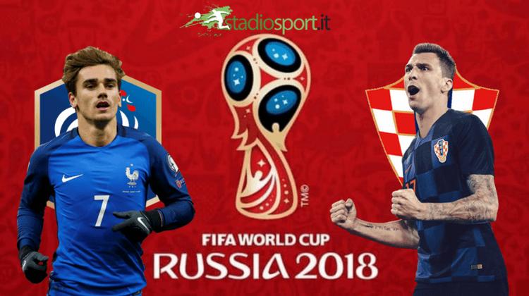 Francia campione del mondo. Croazia battuta 4 a 2.