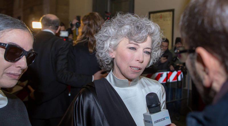 """Il grande valore del """"Made in Italy"""" indossato con eleganza da Irene Pivetti a """"La Scala"""""""
