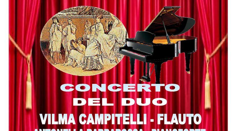 Concerto del duo Campitelli-Barbarossa, Domenica 24 Febbraio 2019