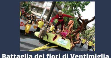 Tra modernità e tradizione a Ventimiglia torna la Battaglia di fiori