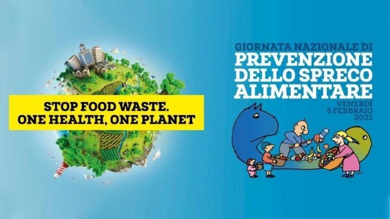 locandina per la prevenzione sullo spreco alimentare