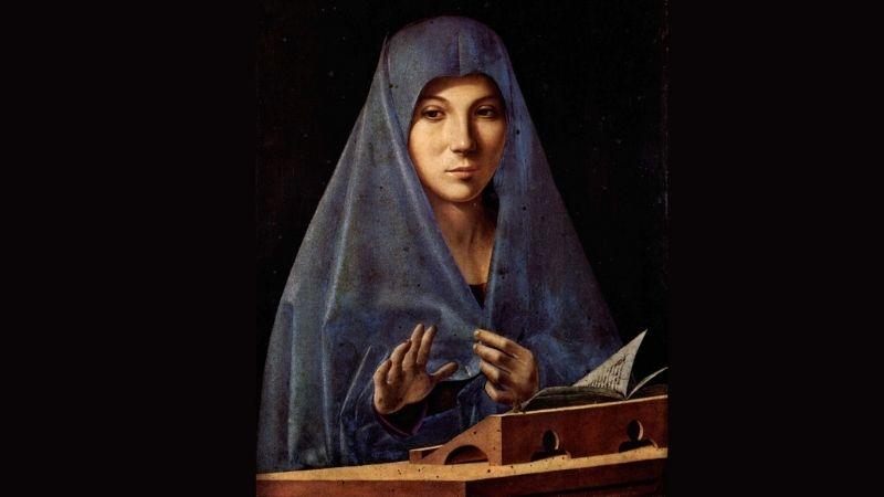 Antonello da Messina Annunciata