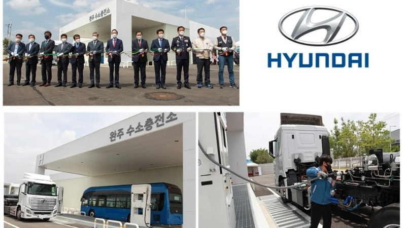 la charging station all'avanguardia di Hyundai